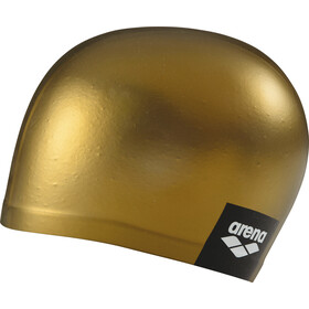 arena Logo Moulded Swimming Cap gold